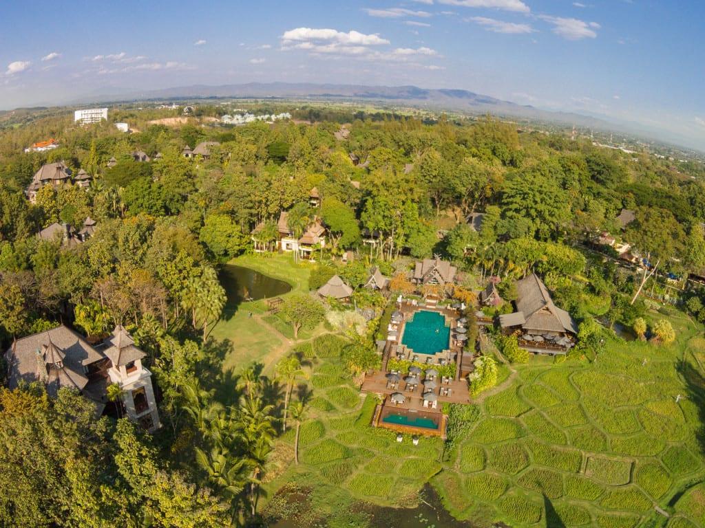 Four Seasons Chiang Mai, Drone View