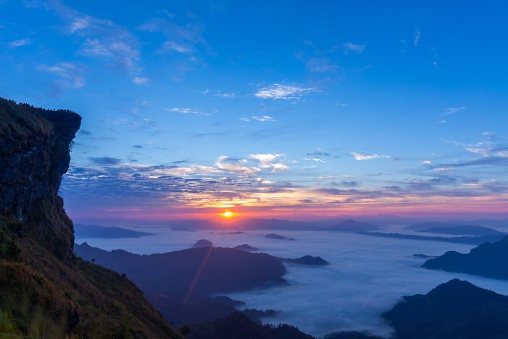 Sunrise at Phu Chee Fah, Chiang Rai