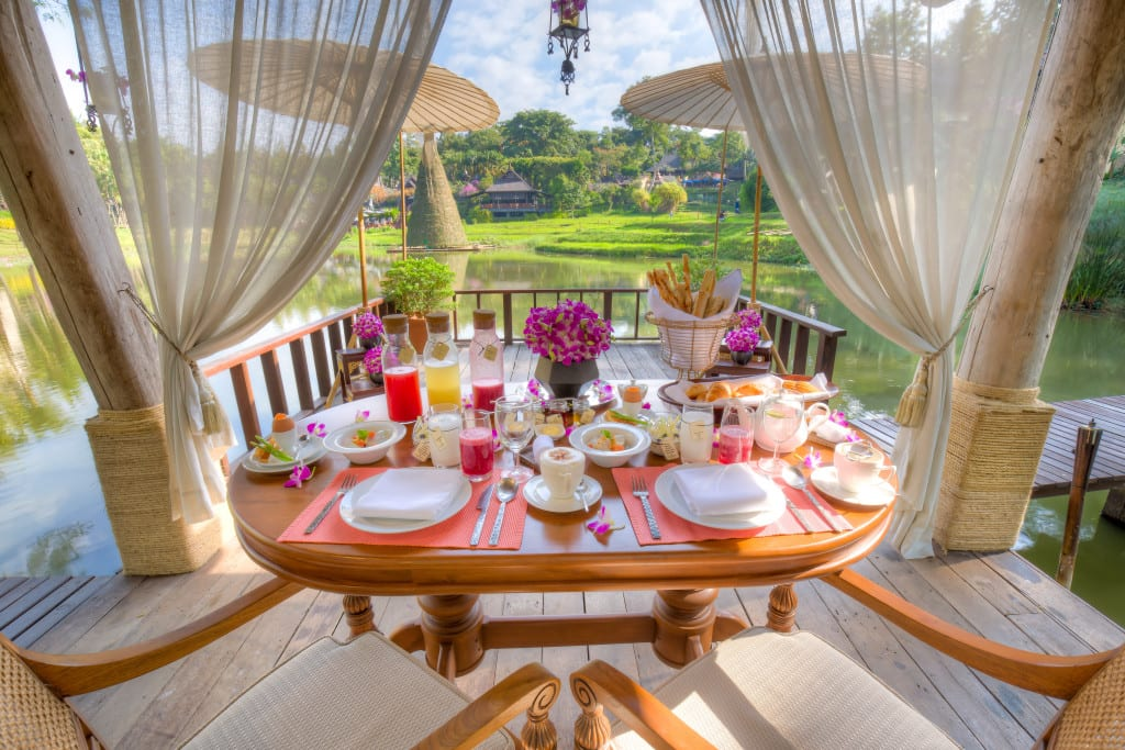 Breakfast at Four Seasons Chiang Mai