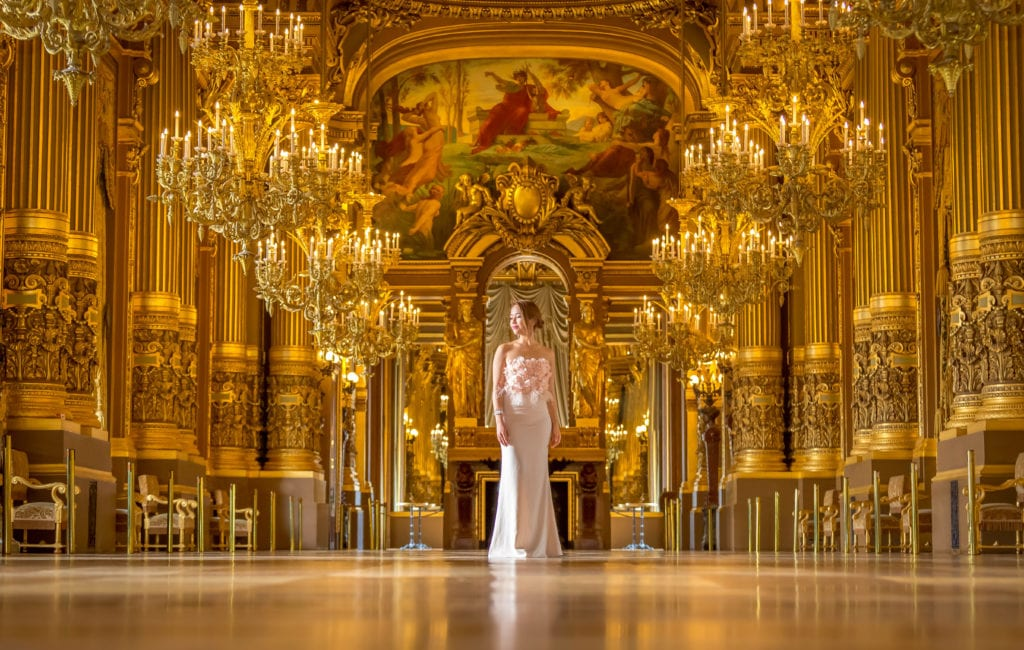 Grand Foyer, Opera Garnier, Paris