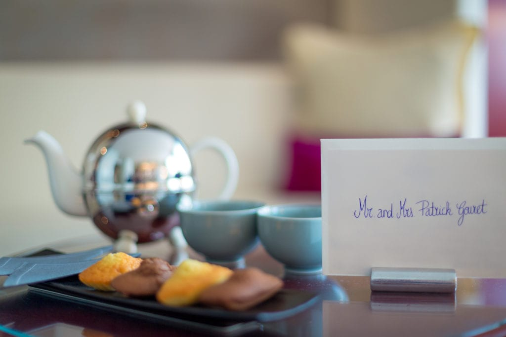 Welcome Message at Mandarin Oriental Paris, Royal Penthouse