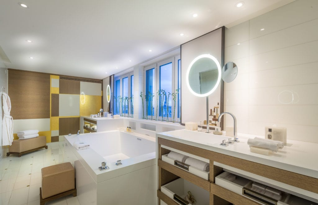 Bathroom at Mandarin Oriental Paris, Royal Penthouse