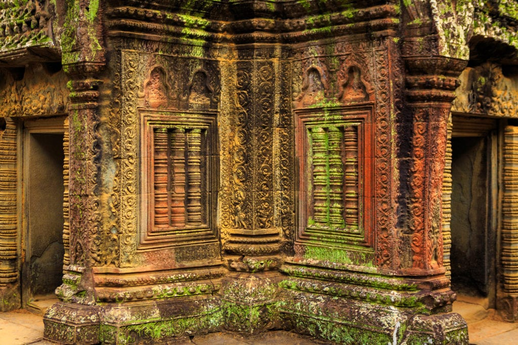 Siem Reap, Colorful Ta Prohm