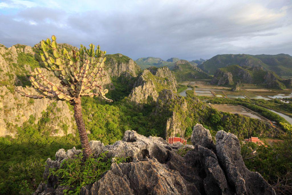 Khao Daeng Viewpoint in Kao Sam Roi Yot National Park